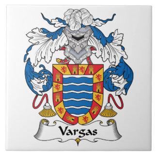 Vargas Family Crest Ceramic Tile