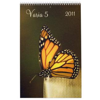 Varia 5 - calendario 2011