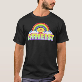 Variable Style/Color Rainbow Atheist T-Shirt
