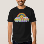 Variable Style/Color Rainbow Atheist Tees