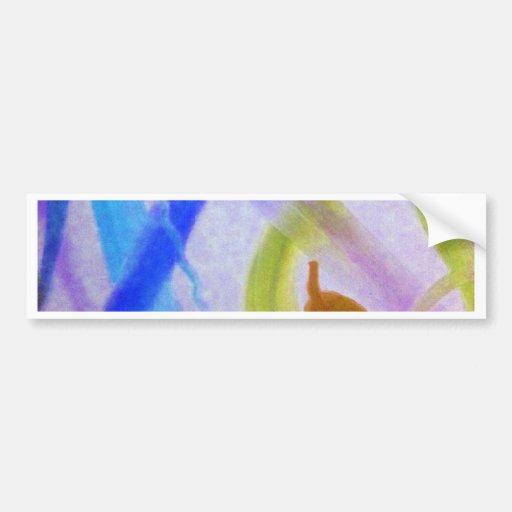 Variación colorida 1 etiqueta de parachoque