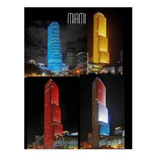 Variaciones en un tema: Torre de Miami Tarjetas Postales