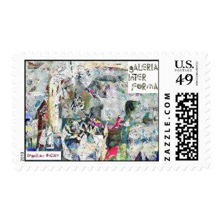 Variaciones sobre una idea, 2. postage stamps