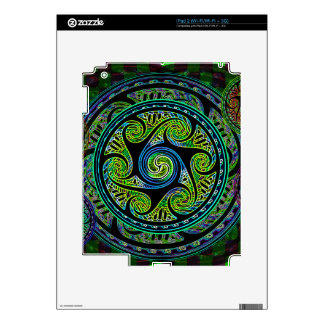 Variated Spheres Vibrant Celtic Knot Skin For The iPad 2