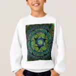 Variated Spheres Vibrant Celtic Knot Sweatshirt