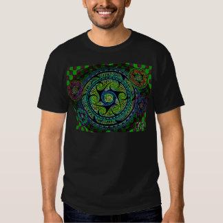 Variated Spheres Vibrant Celtic Knot T-Shirt