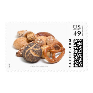 variation of baked goods postage
