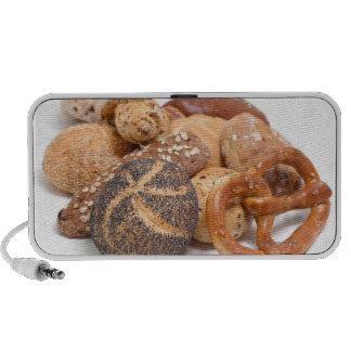 variation of baked goods speaker