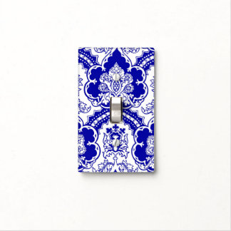 Variation on a German Gothic-style pattern Light Switch Cover