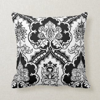 Variation on a Gothic design Throw Pillow