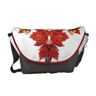 Variation-Red Cross 8 Courier Bag