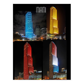 Variations on a theme: Miami Tower Postcard