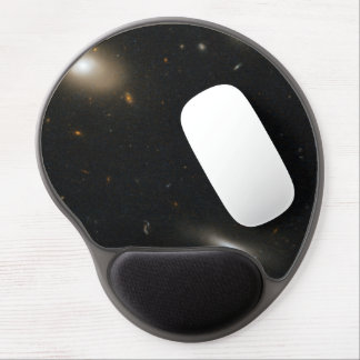 Varied Galaxy Types in the Coma Cluster Gel Mouse Pad