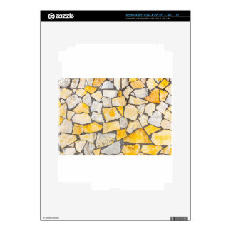 Variedad de ladrillo o de albañilería de las pegatina skin para iPad 3