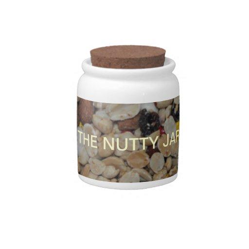 ¡Variedad de nueces para ser Nuts sobre usted! Jarras Para Caramelos