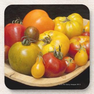 Variedad de tomates posavaso