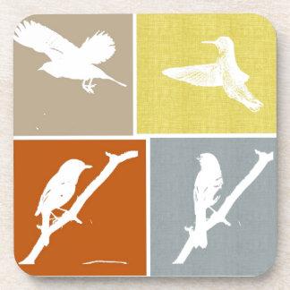 Variedad del pájaro posavasos