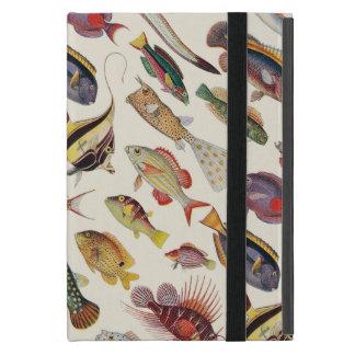Variedades de pescados iPad mini protectores