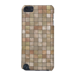 Variegated Beige Tile Pattern iPod Touch 5G Case