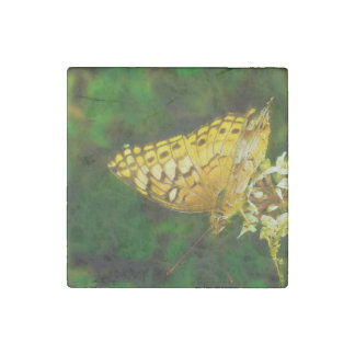 Variegated Fritillary Butterfly Photo Stone Magnet