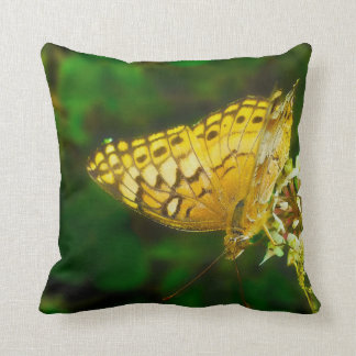 Variegated Fritillary Butterfly Photo Throw Pillow