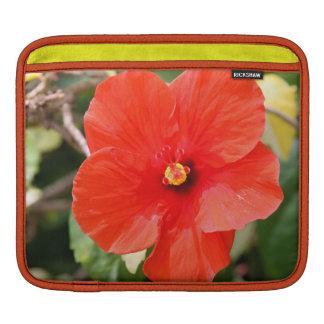 Variegated Hibiscus iPad Sleeve (or macbook air)