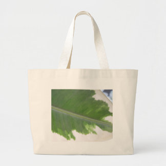Variegated Leaf Jumbo Tote Bag