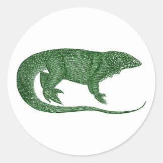 Variegated Lizard Stickers