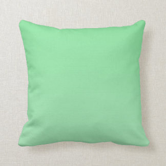 Variegated Pastel Green Pillow