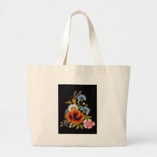Varies Flower Large Tote Bag