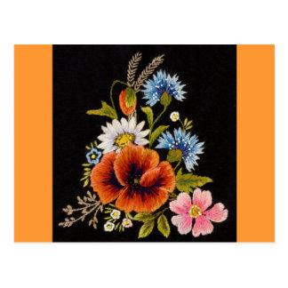 Varies Flower Postcard