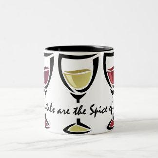 Varietals Wine Two-Tone Coffee Mug