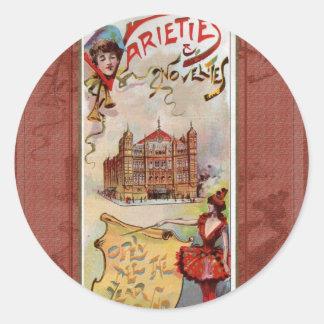 Varieties & Novelties Classic Round Sticker