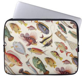 Varieties of Fish Computer Sleeve