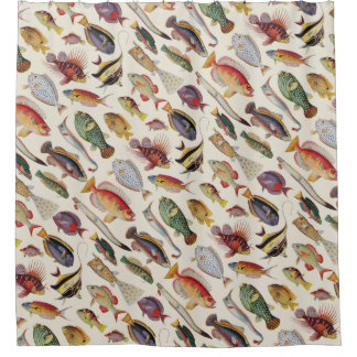Varieties of Fish Shower Curtain