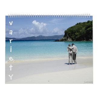 variety calendar