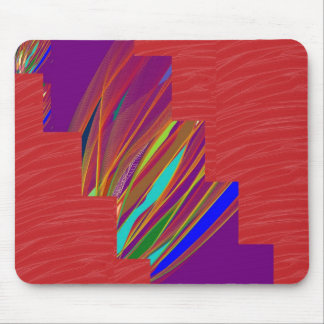 VARIETY of ART on GIFT : Silky RED + ABSTRCT FIRE Mousepads