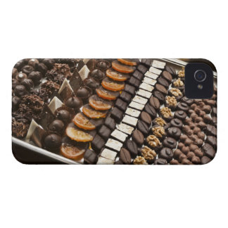 Variety of Artisanal Chocolate Pralines iPhone 4 Case