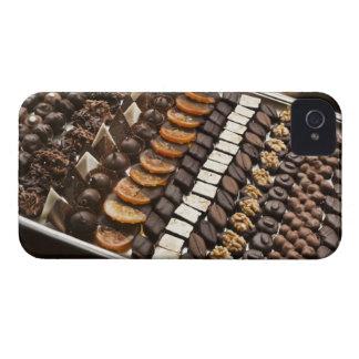 Variety of Artisanal Chocolate Pralines iPhone 4 Cover