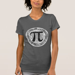 Variety Of Pi Day Symbols Rounds T-shirt at Zazzle