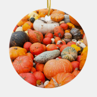 Variety of squash for sale, Germany Ceramic Ornament