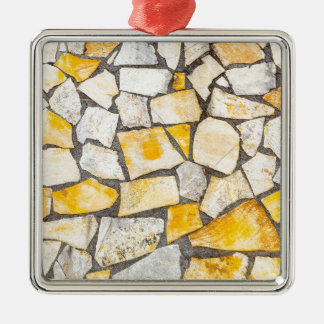 Variety of stones brickwork or masonry metal ornament