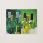 Variety of wine bottles jigsaw puzzles
