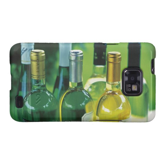 Variety of wine bottles samsung galaxy s2 case