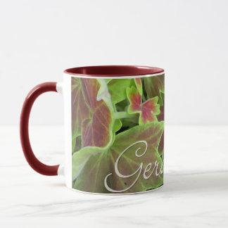 Varigated Geranium Mug