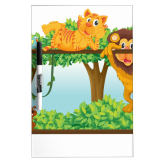 various animals Dry-Erase boards