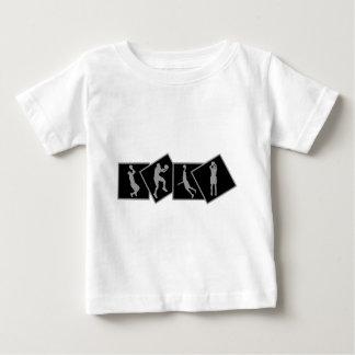 Various basketball shots design baby T-Shirt