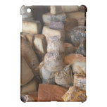 Various cheeses on market stall, full frame iPad mini cases