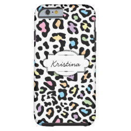 Various Color Animal Print Custom iPhone 6 Case