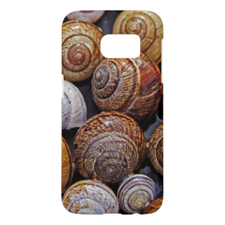 Various Colorful Snail Shells Samsung Galaxy S7 Case